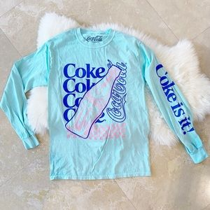 Brand New Retro Vintage Coke is It Tee Size small
